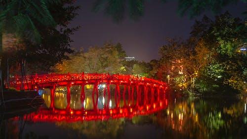 ハノイ, フク橋, ベトナムの無料の写真素材