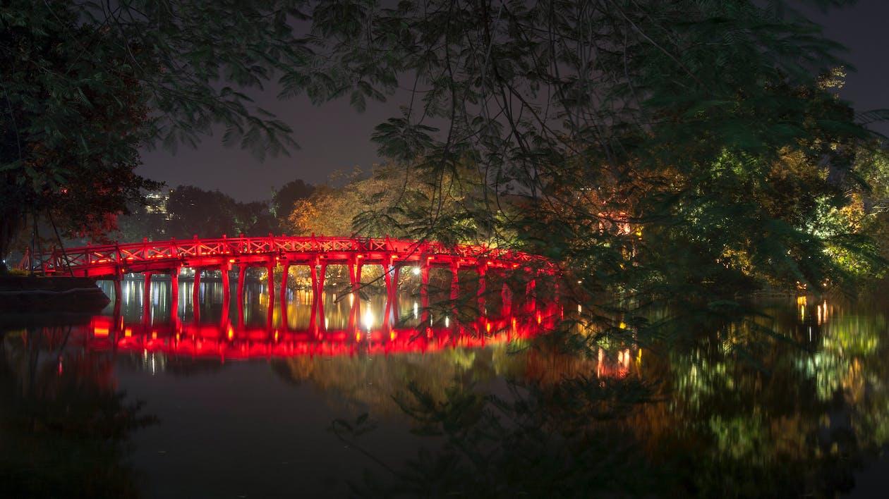 Hanoi, huc broen, vietnam