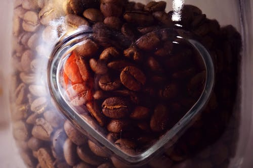 Free stock photo of brown, coffee, coffee beans, glass