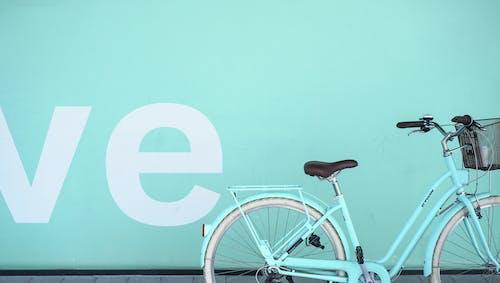 Teal Commuter Bike