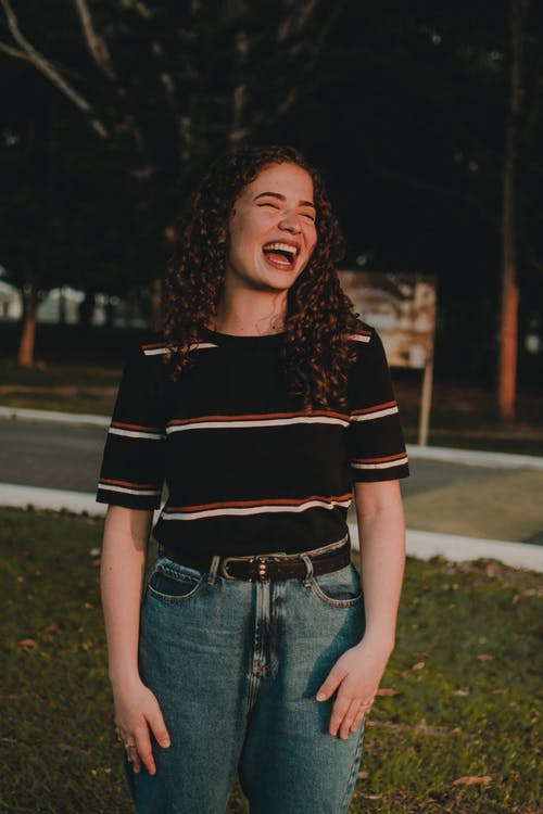 Photo of Woman Laughing