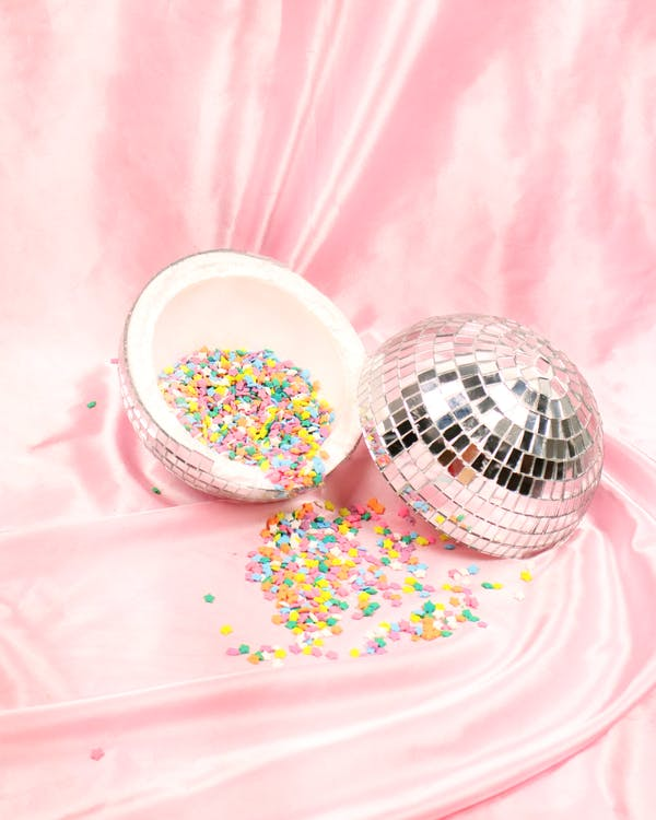 Candy in Disco Ball