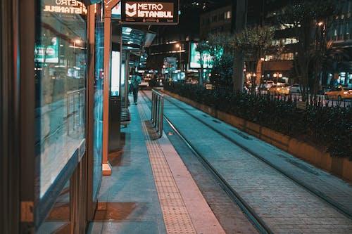 Free stock photo of city, city center, city lights, city night