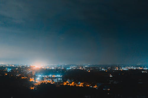 50mm, 갤럭시, 나무, 도시 하늘의 무료 스톡 사진