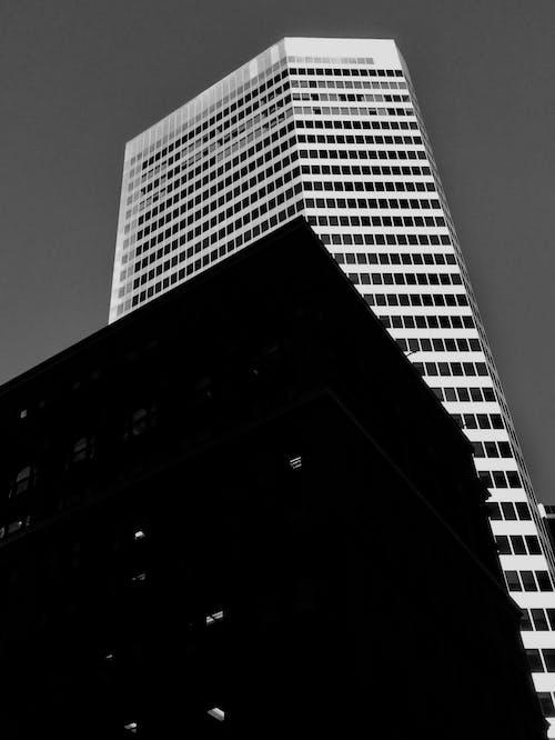 Foto profissional grátis de cidade, construção, contradição, leve