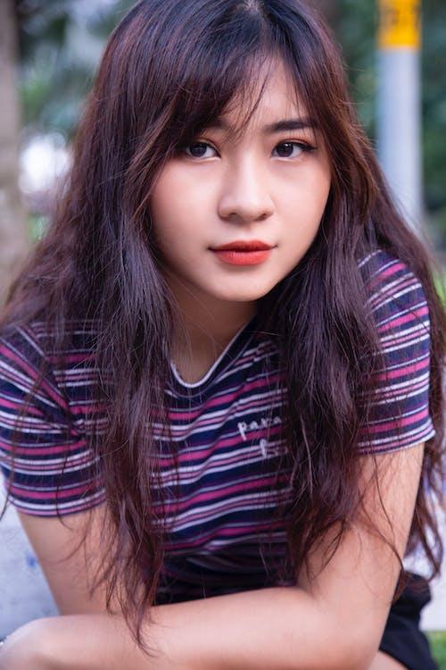 亞洲人, 亞洲女孩, 人, 人類 的 免费素材照片