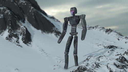 Foto d'estoc gratuïta de robot