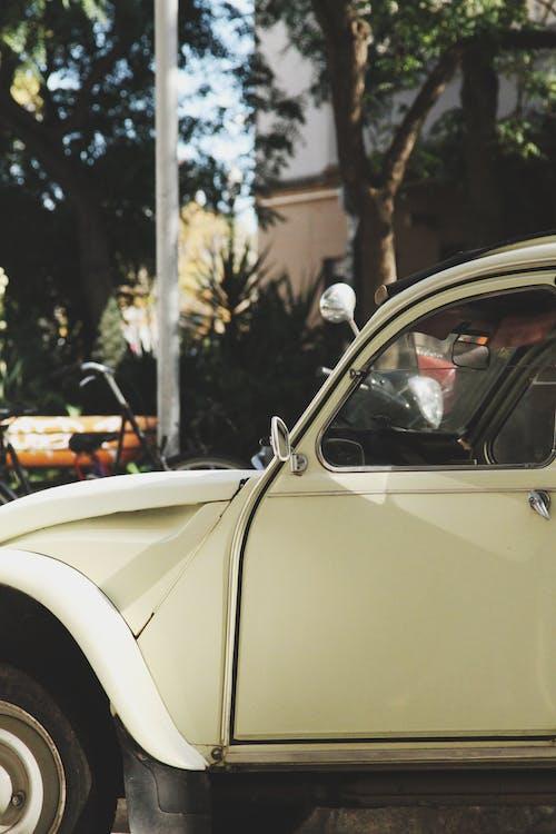 Ingyenes stockfotó autó, chrome, design, életlenítés háttér témában