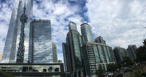 คลังภาพถ่ายฟรี ของ ตึก, ตึกระฟ้า, ทันสมัย, ทิวทัศน์เมือง