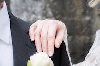 man, couple, hands
