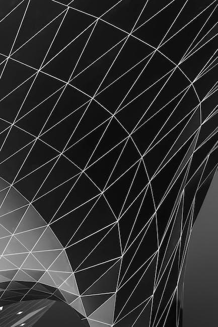 Monochrome photo of triangle shape digital wallpaper