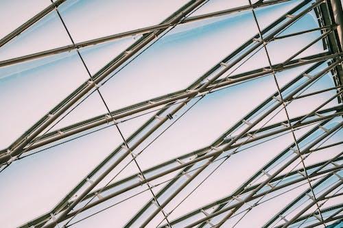 bakış açısı, çelik, dar açılı çekim, dar açılı fotoğraf içeren Ücretsiz stok fotoğraf