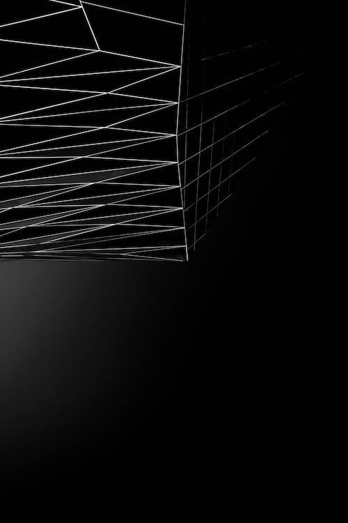 Black Abstract Wallpaper