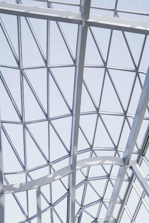 Foto d'estoc gratuïta de acer, arquitectura, disseny d'interiors, estampat