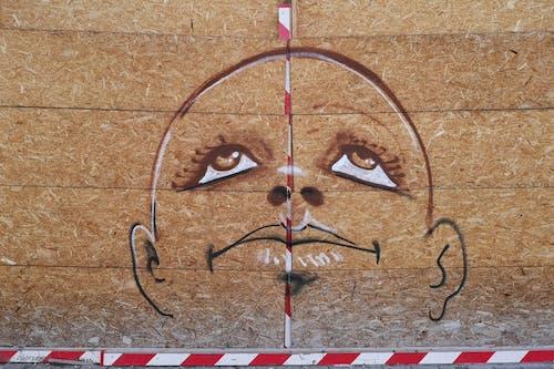 Fotos de stock gratuitas de arte callejero, bruselas, buscando, chico calvo