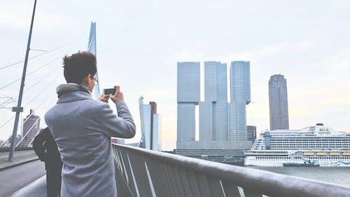 คลังภาพถ่ายฟรี ของ กระจก, กลางวัน, ตึก, ตึกระฟ้า