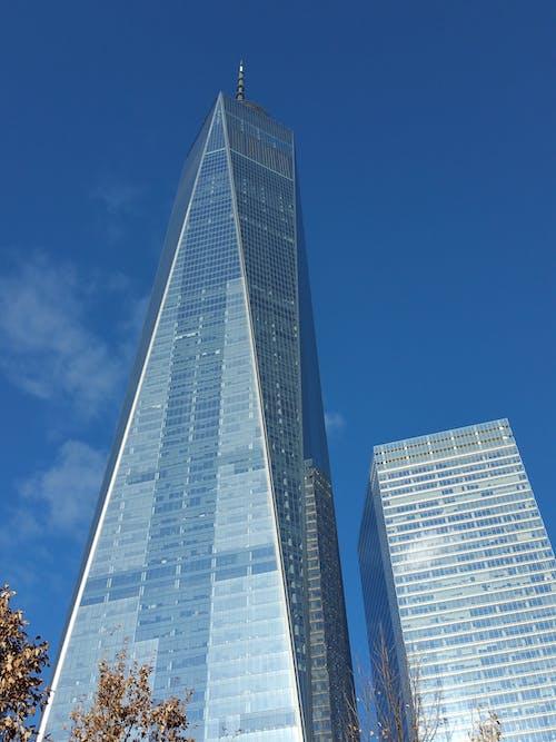 bakış açısı, bina, çağdaş, cam paneller içeren Ücretsiz stok fotoğraf