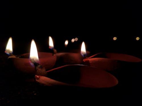 Foto stok gratis diwali, lampu, selamat diwali