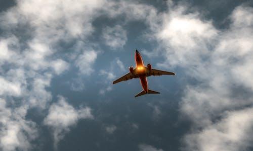 Kostnadsfri bild av avstamp, flyg, flygande, flygplan