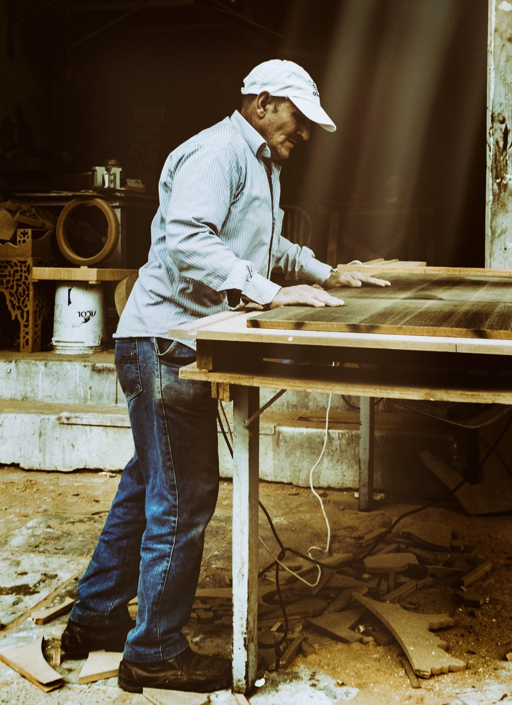 Carpentry Carpenter Woodworker Woodworking Wooden: Free Stock Photo Of Carpenter, Carpenter Cutting, Carpentry