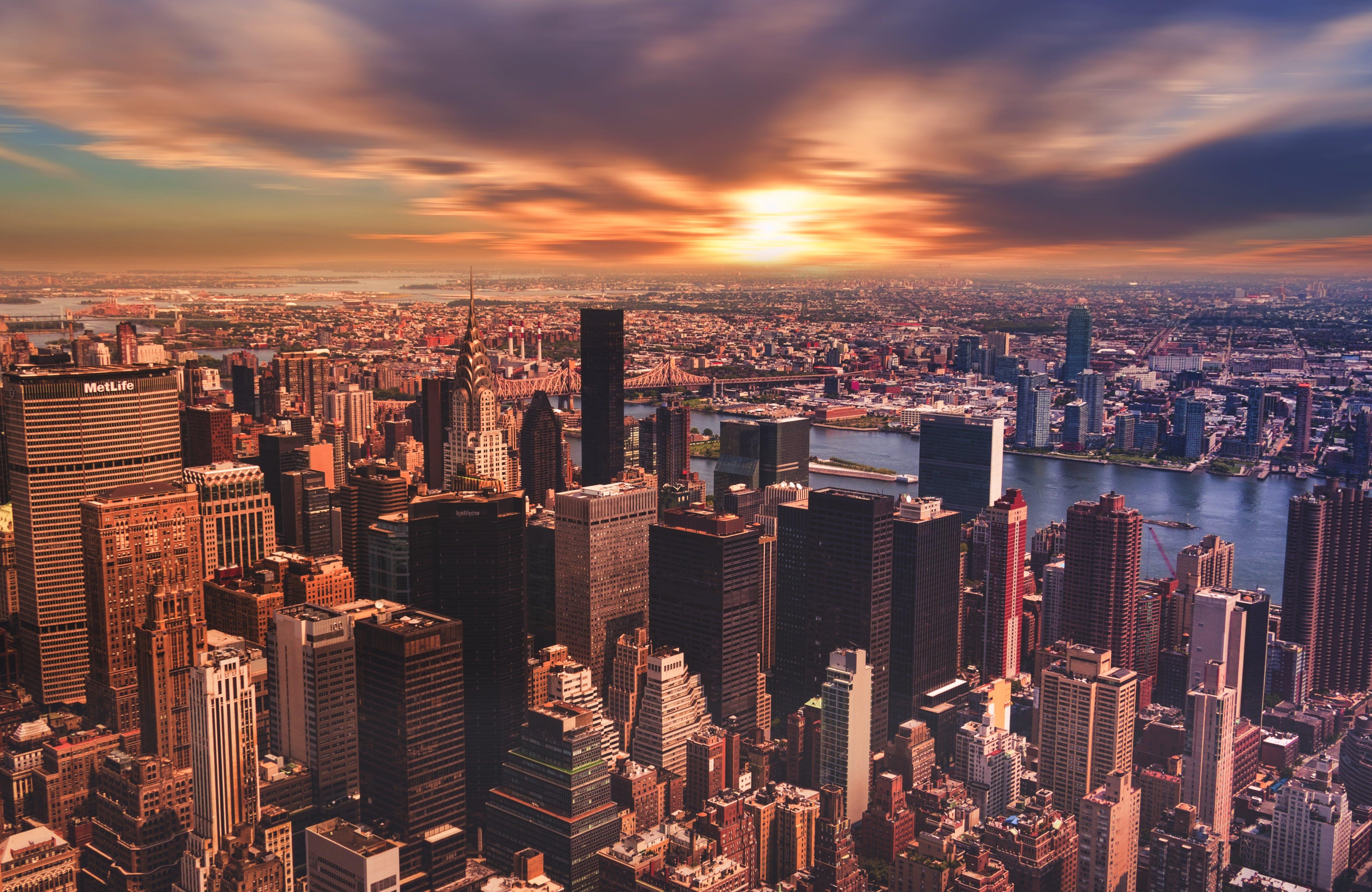 Δωρεάν στοκ φωτογραφιών με nyc, αρχιτεκτονική, αστικός, γραμμή ορίζοντα