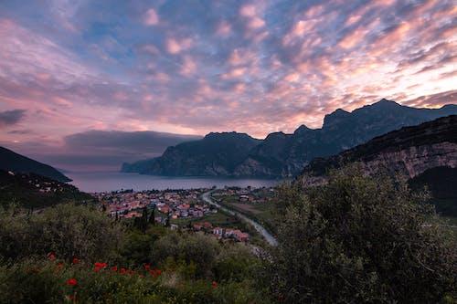 Immagine gratuita di alba, fiume, italia, lago