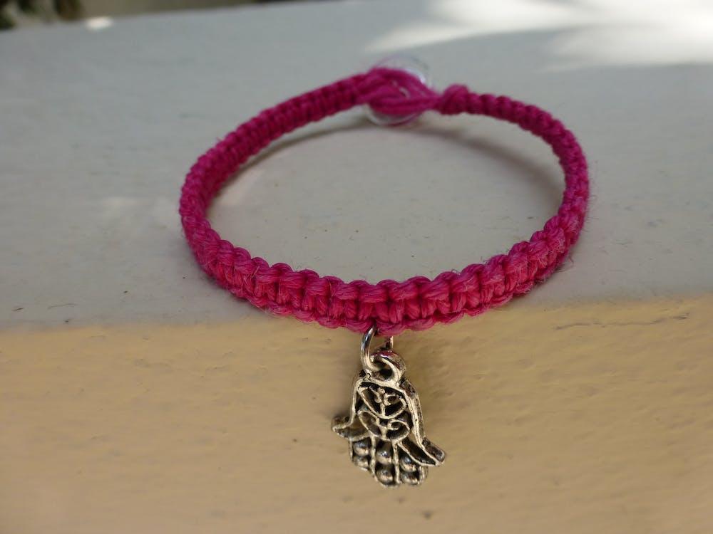 bracelet, charm, hippie