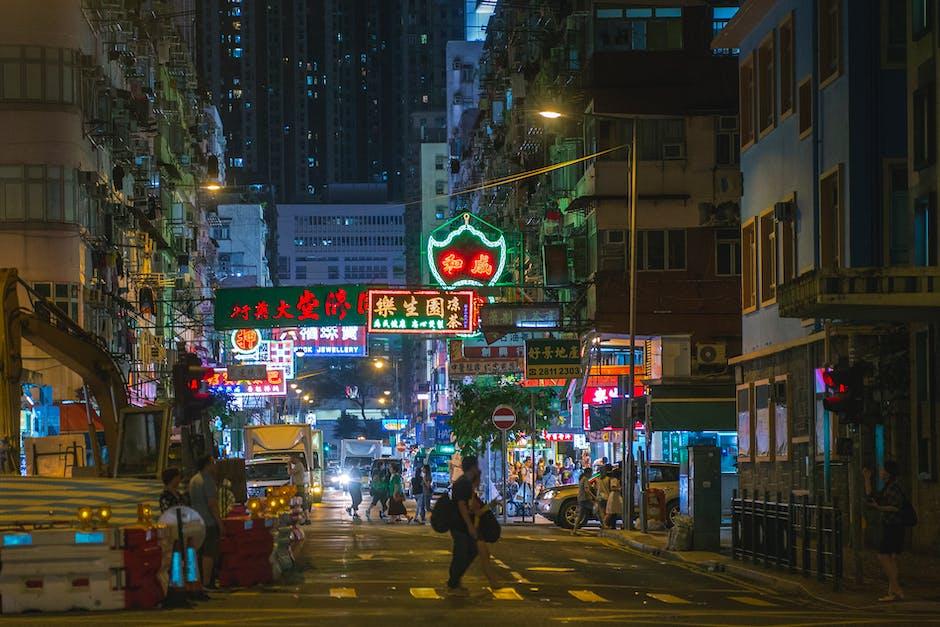 People crossing street during nighttime