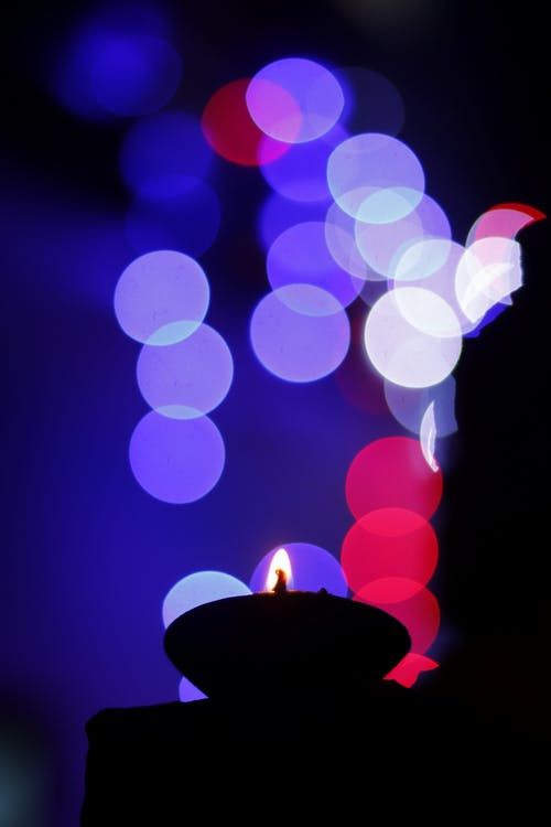 Free stock photo of backlight, bokeh, Candlelights, cultural