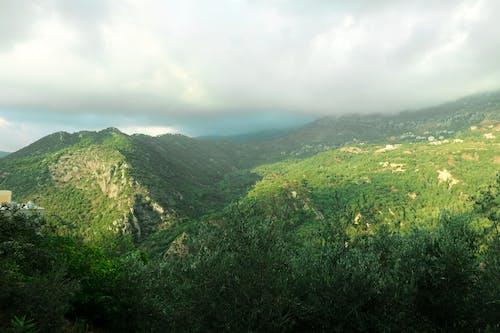 Základová fotografie zdarma na téma hora, modrá, mraky, obloha