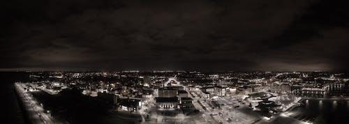 Free stock photo of racine night sky