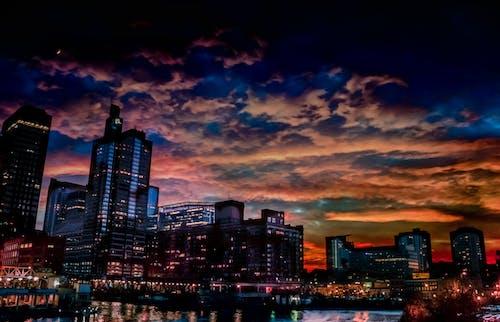 Free stock photo of chicago night