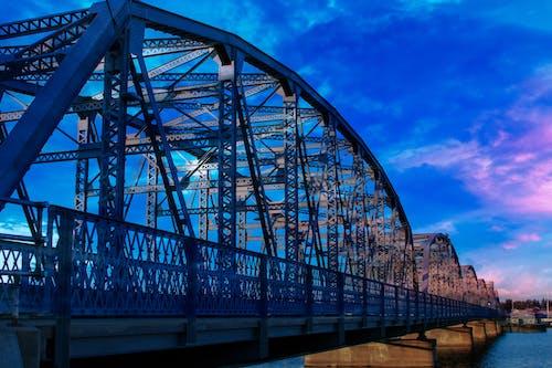 Free stock photo of bridge sunset