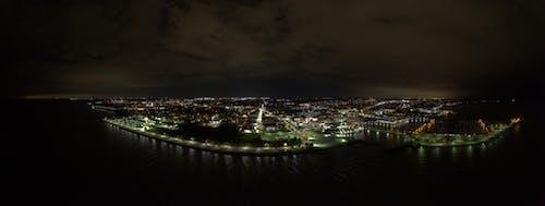 Free stock photo of racine night sky 2