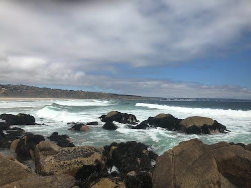 Photos gratuites de mer, vagues de la plage