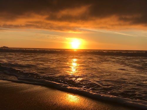 Photos gratuites de beau coucher de soleil