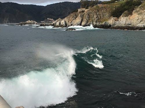 Photos gratuites de paysage aquatique, vagues de la plage