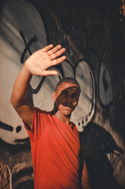 Бесплатное стоковое фото с аэрозольная краска, вандализм, выражение лица, граффити