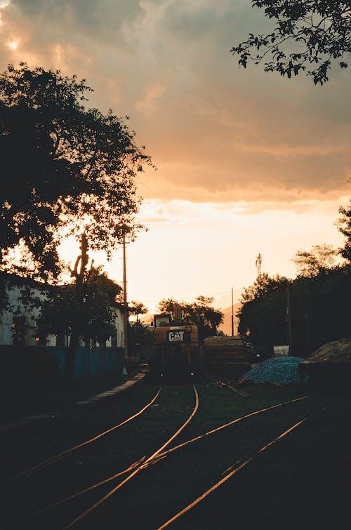 Free stock photo of railway line, train station