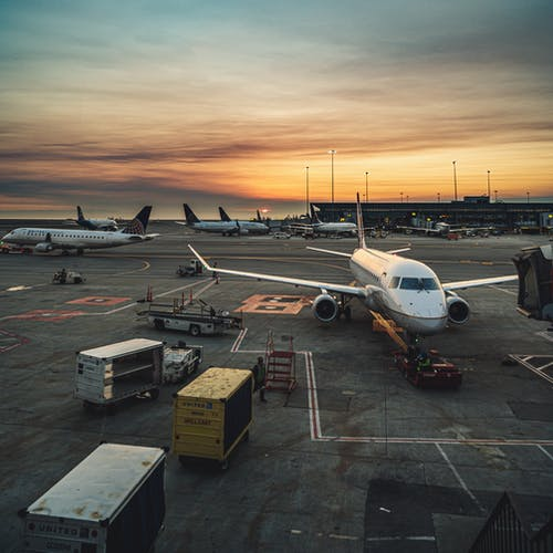 Photo of Airplanes at Airport