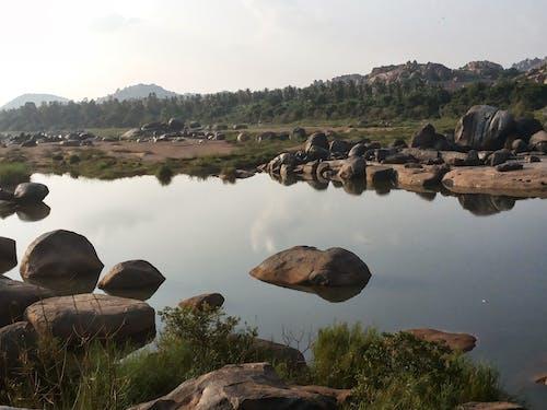 Free stock photo of mountain lake