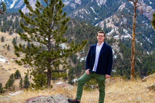 Ingyenes stockfotó dzseki, erdő, fák, Férfi témában