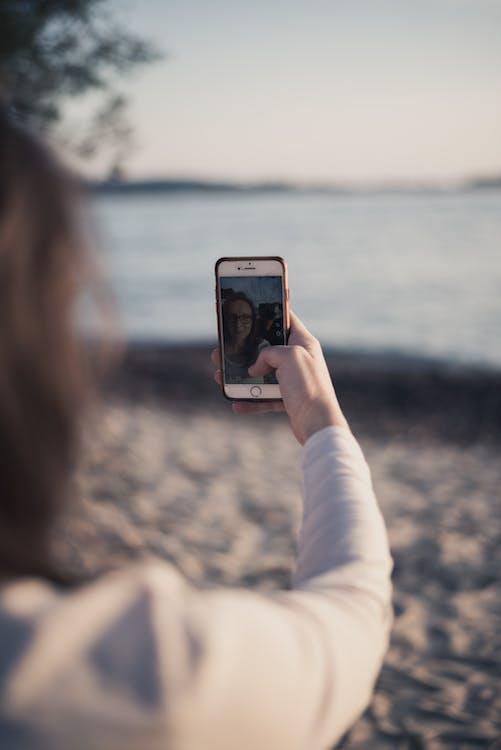 focení, osoba, selfie