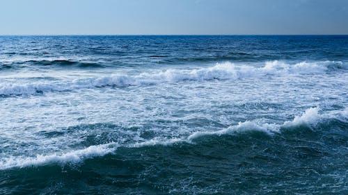 Ingyenes stockfotó hullám, hullámok, kék hullámok, sötét tenger témában