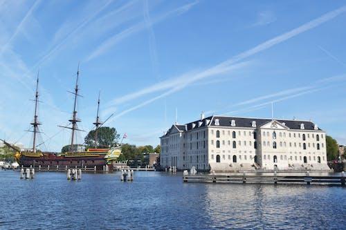Photos gratuites de amsterdam, bateau, beau paysage, eau
