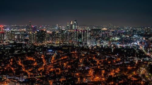 Безкоштовне стокове фото на тему «Азія, Корея, місто, ніч»