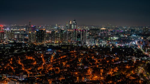 Foto stok gratis Asia, Korea, kota, malam