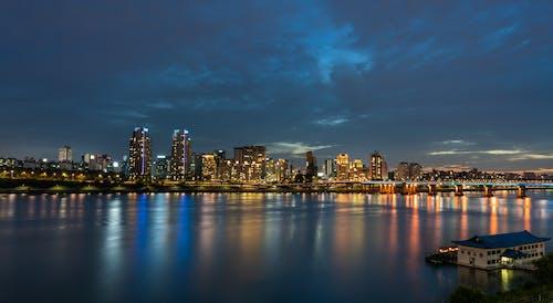 Free stock photo of blue, city, cityscape, korea