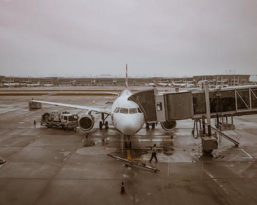 คลังภาพถ่ายฟรี ของ สนามบิน