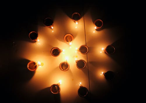Free stock photo of candlelight, Diwali